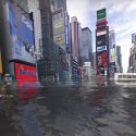 Time Square submerged